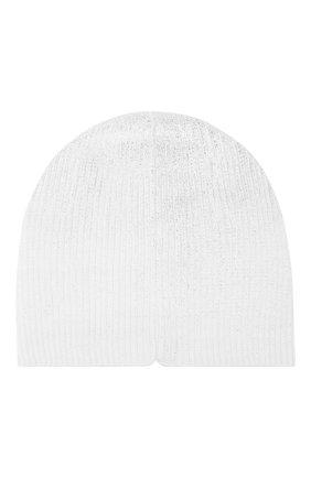 Детского хлопковая шапка CATYA белого цвета, арт. 913111/F | Фото 2