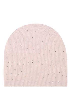 Хлопковая шапка Catya розового цвета | Фото №1
