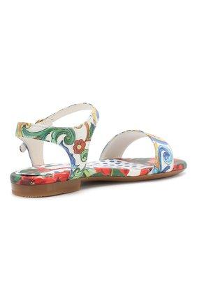 Кожаные сандалии   Фото №3