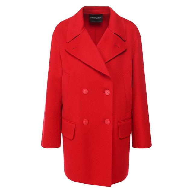 Кашемировое пальто Emporio Armani