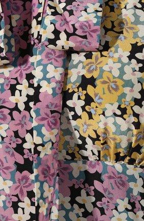 Шелковое платье Valentino разноцветное   Фото №5