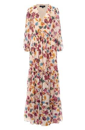 Платье-макси с принтом | Фото №1