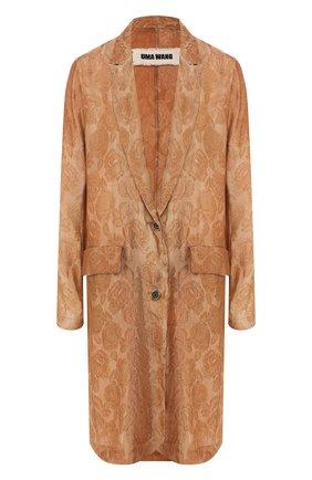 Пальто из смеси вискозы и шелка | Фото №1