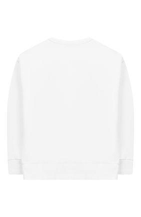 Детский хлопковый свитшот INDEE белого цвета, арт. ENERGETIC/INDEE TEAM/WHITE/12Y-16Y | Фото 2