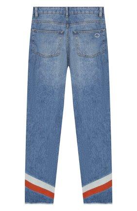 Детские джинсы прямого кроя INDEE голубого цвета, арт. ETHI0PIA/DENIM/12Y-16Y | Фото 2