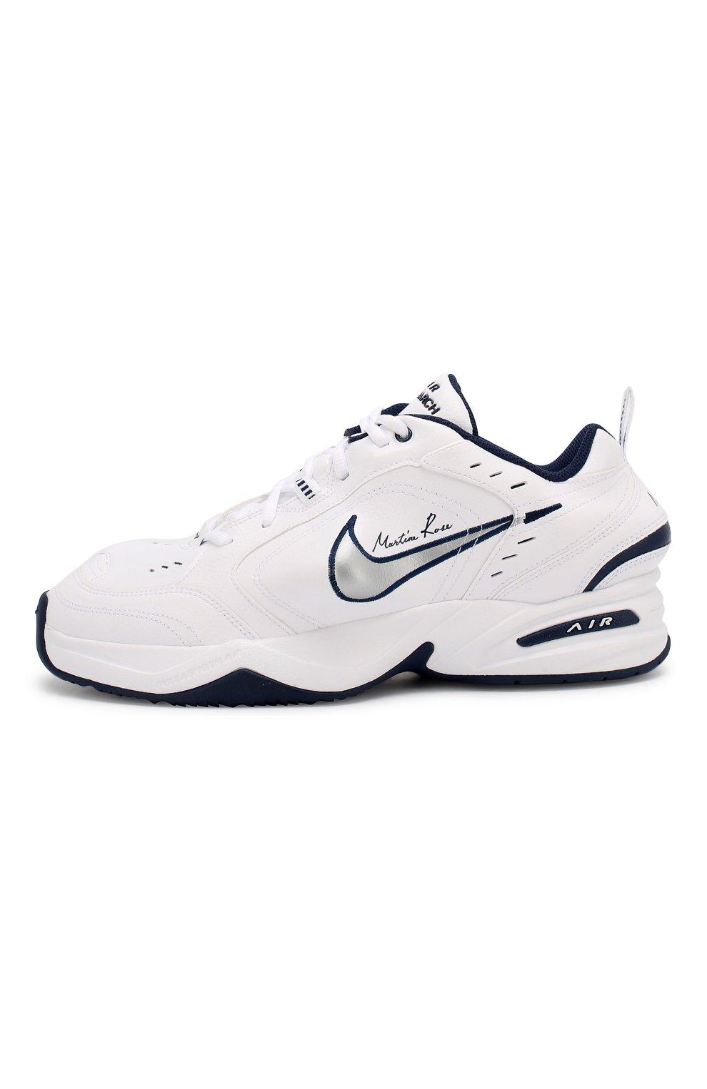 6efbec2f9 Кожаные кроссовки NikeLab x Martine Rose Air Monarch IV NikeLab белые |  Фото №3