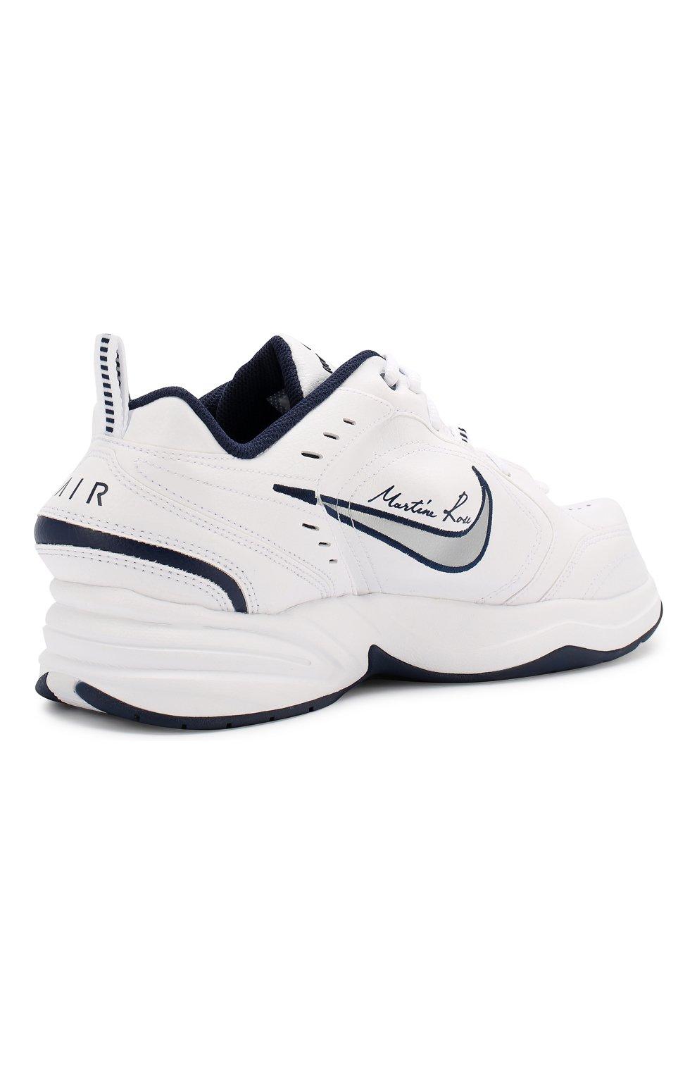 aec240798 Кожаные кроссовки NikeLab x Martine Rose Air Monarch IV NikeLab белые |  Фото №4