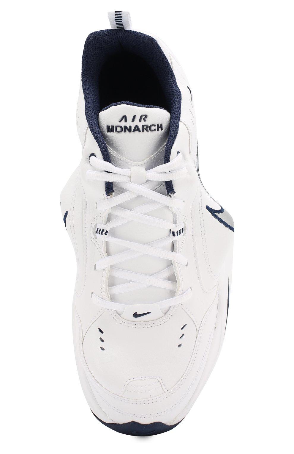 3d9ea42dc Кожаные кроссовки NikeLab x Martine Rose Air Monarch IV NikeLab белые |  Фото №5