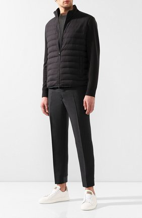 Шерстяная куртка Cape York с замшевой отделкой | Фото №2