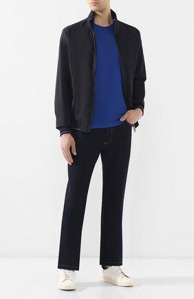 Мужские джинсы прямого кроя BILLIONAIRE темно-синего цвета, арт. B19C MDT1356 BTE001N | Фото 2