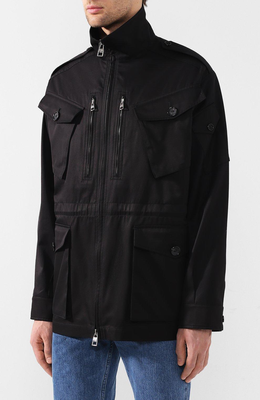 Хлопковая куртка | Фото №3