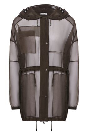 Шелковая куртка | Фото №1
