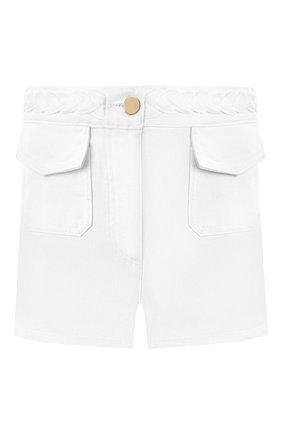 Джинсовые шорты Valentino белые | Фото №1