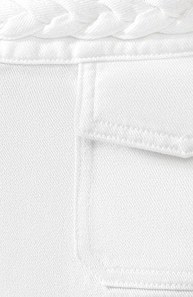 Джинсовые шорты Valentino белые | Фото №5
