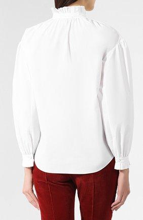 Хлопковая блузка | Фото №4