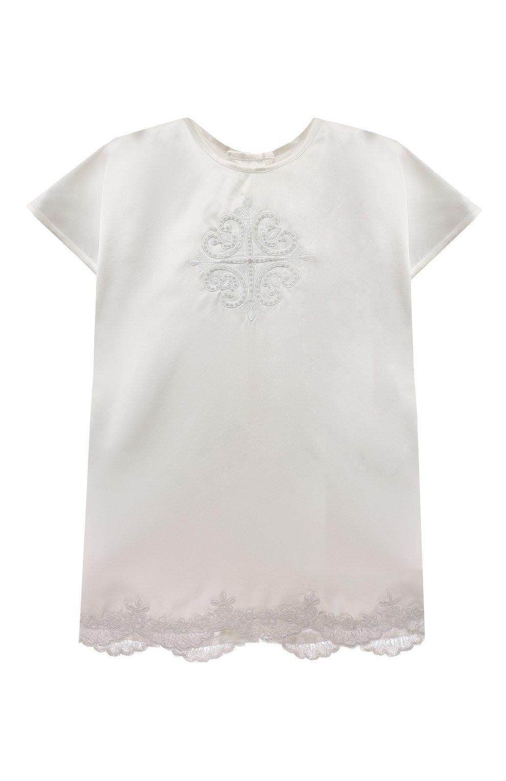 Детского комплект из семи изделий кружевной premium CHEPE белого цвета, арт. 351388 | Фото 2 (Материал внешний: Хлопок; Статус проверки: Проверена категория; Ростовка одежда: 3 мес | 62 см, 6 мес | 68 см)