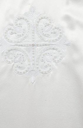 Детского комплект из семи изделий кружевной premium CHEPE белого цвета, арт. 351388 | Фото 4 (Материал внешний: Хлопок; Статус проверки: Проверена категория; Ростовка одежда: 3 мес | 62 см, 6 мес | 68 см)