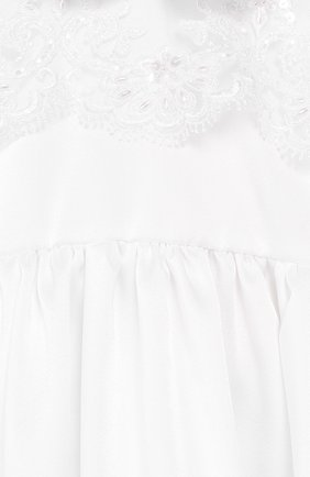 Детского комплект из семи изделий кружевной premium CHEPE белого цвета, арт. 351388 | Фото 7 (Материал внешний: Хлопок; Статус проверки: Проверена категория; Ростовка одежда: 3 мес | 62 см, 6 мес | 68 см)