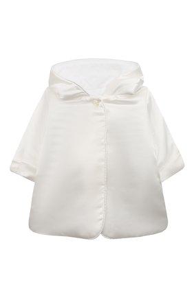 Детского комплект из семи изделий кружевной premium CHEPE белого цвета, арт. 351388 | Фото 10 (Материал внешний: Хлопок; Статус проверки: Проверена категория; Ростовка одежда: 3 мес | 62 см, 6 мес | 68 см)