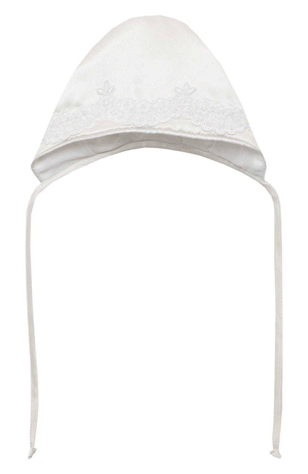 Детского комплект из семи изделий кружевной premium CHEPE белого цвета, арт. 351388 | Фото 12 (Материал внешний: Хлопок; Статус проверки: Проверена категория; Ростовка одежда: 3 мес | 62 см, 6 мес | 68 см)