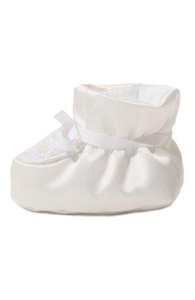 Детского комплект из семи изделий кружевной premium CHEPE белого цвета, арт. 351388 | Фото 15 (Материал внешний: Хлопок; Статус проверки: Проверена категория; Ростовка одежда: 3 мес | 62 см, 6 мес | 68 см)