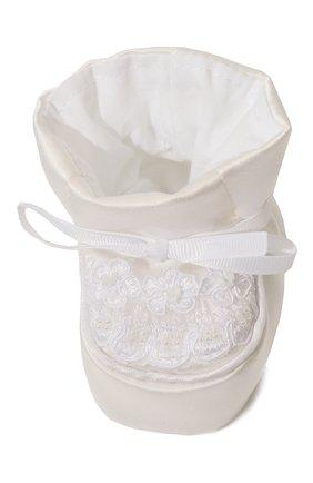 Детского комплект из семи изделий кружевной premium CHEPE белого цвета, арт. 351388 | Фото 17 (Материал внешний: Хлопок; Статус проверки: Проверена категория; Ростовка одежда: 3 мес | 62 см, 6 мес | 68 см)