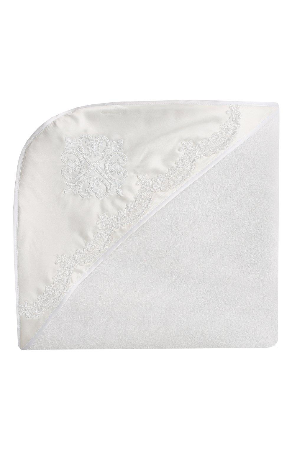 Детского комплект из семи изделий кружевной premium CHEPE белого цвета, арт. 351388 | Фото 18 (Материал внешний: Хлопок; Статус проверки: Проверена категория; Ростовка одежда: 3 мес | 62 см, 6 мес | 68 см)
