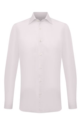 Мужская хлопковая сорочка LUIGI BORRELLI кремвого цвета, арт. EV08/LUCIAN0/TS10602 | Фото 1