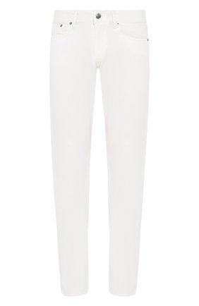 Мужские хлопковые брюки  RALPH LAUREN белого цвета, арт. 790678678 | Фото 1