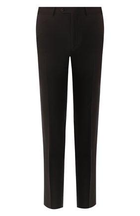 Мужской шерстяные брюки CORNELIANI черного цвета, арт. 835263-9118150/02 | Фото 1