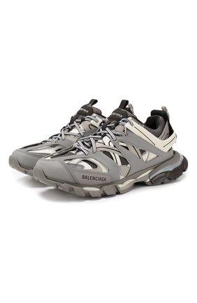 Мужские текстильные кроссовки track BALENCIAGA серого цвета, арт. 542023/W1GB7 | Фото 1