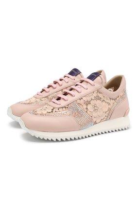 Комбинированные кроссовки Claire | Фото №1