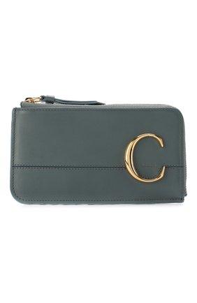 Кожаный футляр для кредитных карт Chloé C | Фото №1