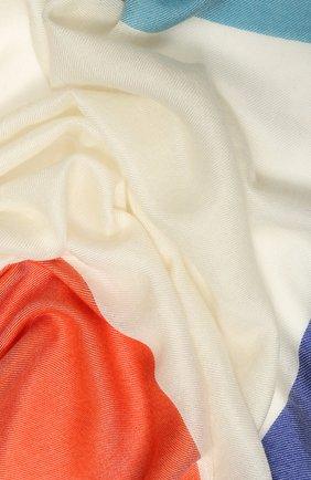 Женский платок alba из смеси кашемира и шелка LORO PIANA разноцветного цвета, арт. FAI0394 | Фото 2