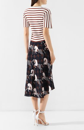 Платье-миди Chloé разноцветное | Фото №4