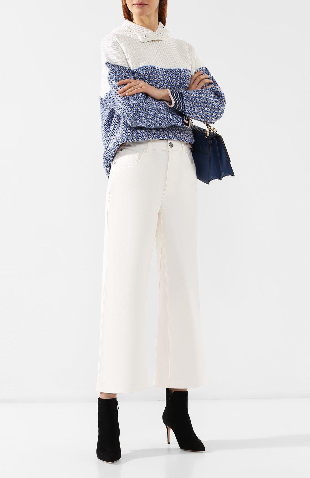 Укороченные джинсы   Фото №2