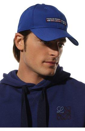 Мужской бейсболка PAUL&SHARK синего цвета, арт. C0P7101 | Фото 2