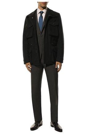 Мужские кожаные оксфорды BERLUTI темно-серого цвета, арт. S4505-002 | Фото 2