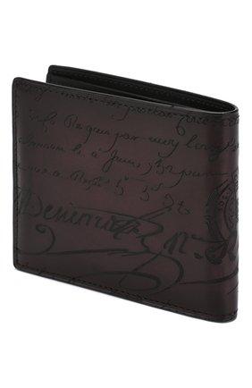 Мужской кожаное портмоне BERLUTI бордового цвета, арт. N124285 | Фото 2