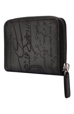 Мужской кожаное портмоне BERLUTI черного цвета, арт. N135254 | Фото 2