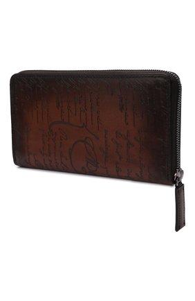 Мужской кожаное портмоне BERLUTI светло-коричневого цвета, арт. N135273 | Фото 2