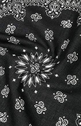 Мужской хлопковый платок SAINT LAURENT белого цвета, арт. 551653/4Y105 | Фото 2