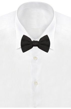 Детский галстук-бабочка из шелка DOLCE & GABBANA черного цвета, арт. LN1A58/G0U05 | Фото 2