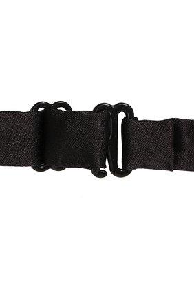 Детский галстук-бабочка из шелка DOLCE & GABBANA черного цвета, арт. LB1A58/G0U05 | Фото 2