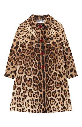 Пальто из хлопка и шелка | Фото №1