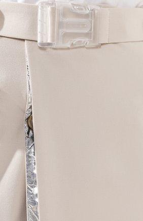Юбка-миди с поясом | Фото №5