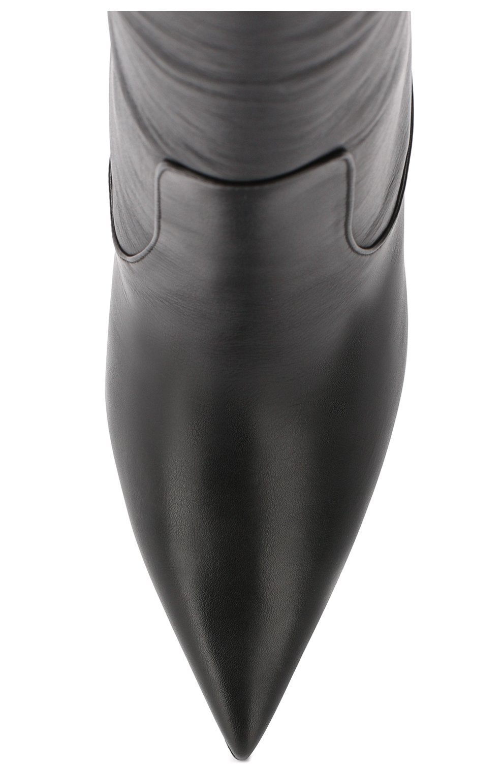 Кожаные сапоги Mavis 100 Jimmy Choo черные   Фото №5