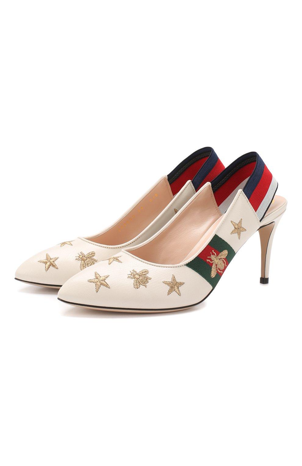 Кожаные туфли Sylvie | Фото №1