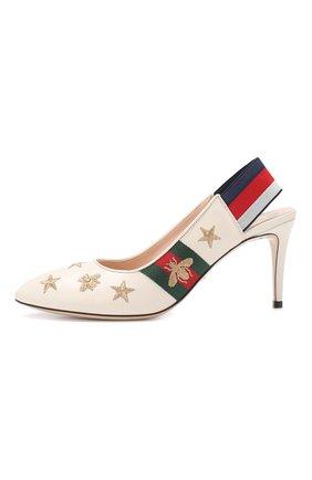 Кожаные туфли Sylvie | Фото №3