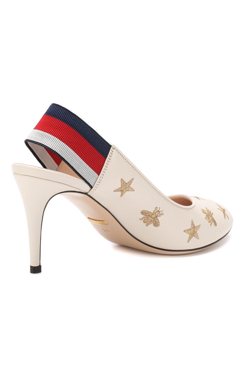 Кожаные туфли Sylvie | Фото №4